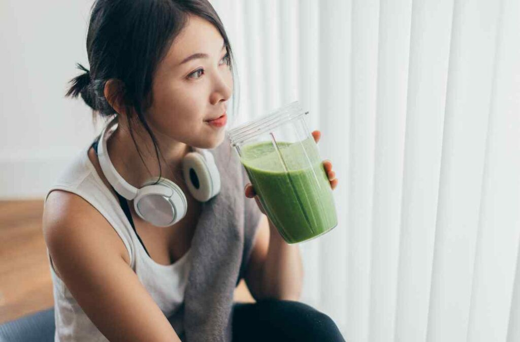 vegan protein powder helps in weight loss and digestion