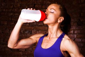 weight loss with whey protein powder